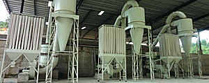 ore grinding plant