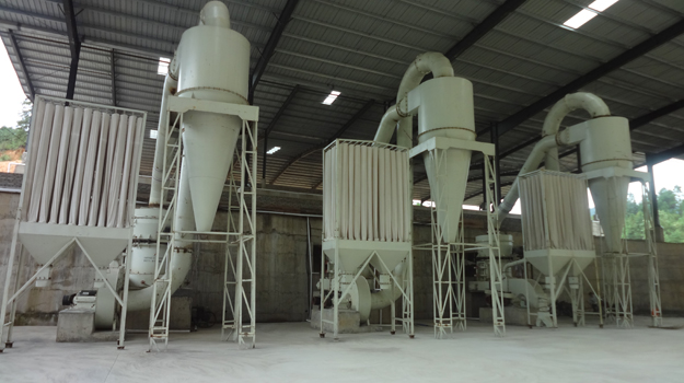 HGM80 super fine mill in Thailand