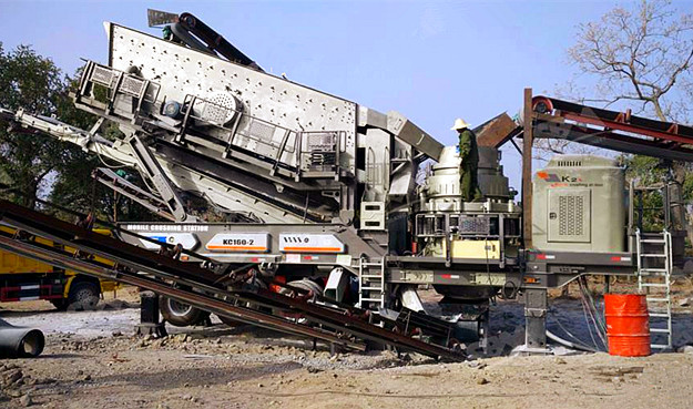 Mobile Type Crushing Line in Papua New Guinea