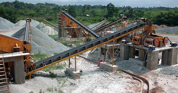Angola 80-100TPH Granite Crusher