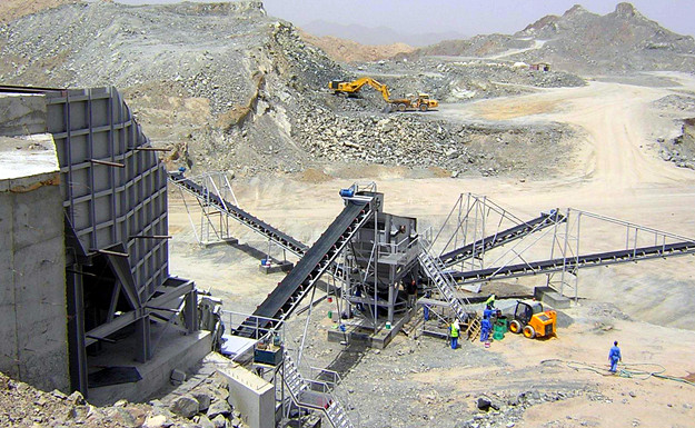 Chile Magnetite crushing beneficiation production line