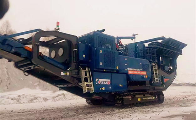 Mobile Plant YG1345FW1315 in Russia