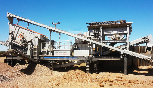 50TPH Diamond Waste Crushing Project in South Africa
